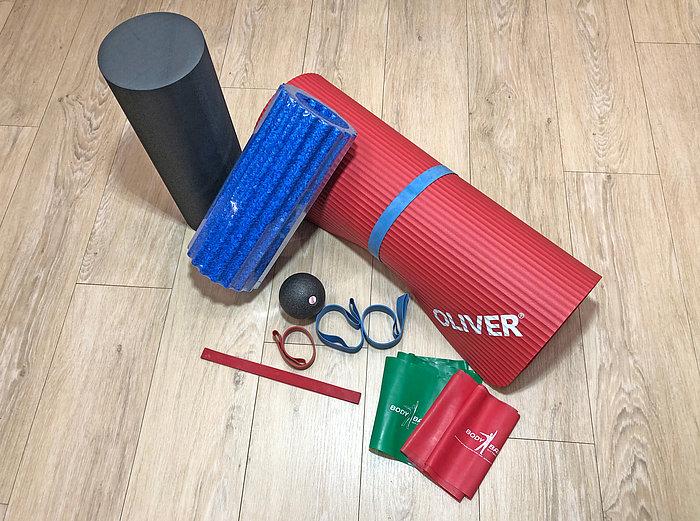 Eure Ausstattung für das Training zu Hause